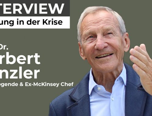Herbert Henzler: Führung in Krisen