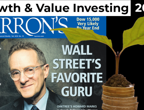 Howard Marks 2021: Wachstum ist eine Komponente des Value Investings